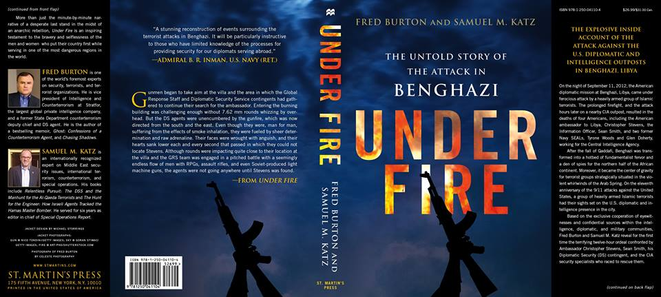 Under Fire Book Cover Benghazi