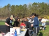4/28/13-HCF Bi-Continental Race - Registration for the Shoreham event, with Larry Hohler & Victorya Hernandez signing in prospective runners and walkers