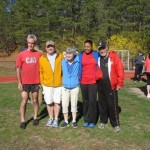 Marty Randall, George and Maria Hoffman, Brookhaven Town Board member Valerie Cartright, and Larry Hohler at the Bi Continental Run