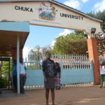 Caroline Kathuri is in her third year at Chuka University, majoring in  Eco Tourism.