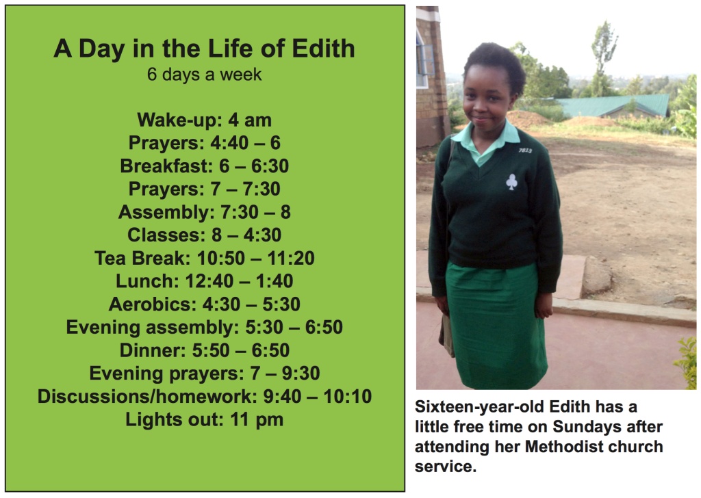 A Day in the Life of Edith